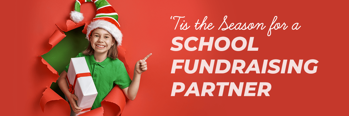 'Tis the Season for a School Fundraising Partner